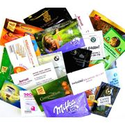 Услуги по изготовлению влажных салфеток и саше в одноразовой (индивидуальной) упаковке фото
