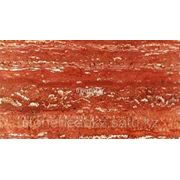 Иранский Красный Травертин, слэб 20 мм. (Red Travertine) Iran фото