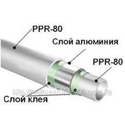 Труба пластиковая армированная (AL-PE-PN-25) d20-63 фото