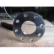 Плоский н\ж фланец для сварки внахлестку 04Х18Н9 DN 32 (38 мм)
