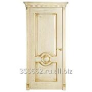 Межкомнатная дверь Рада, (массив бессучковой сосны) фото