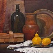 "Картина ""Натюрморт в деревенском стиле"" фото"