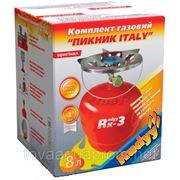 """Газовый комплект """"Пикник-Italy"""" """"RUDYY Rk-3"""" 8 литров фото"""