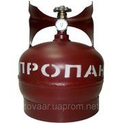 Баллон газовый 5л г,Севастополь с вентилем ВБ-2 фото