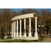 Парковая архитектура из пенополистирола фото