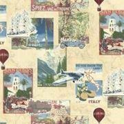 АРТ - Компакт винил на флизелине - Путешествия (45-039-01) фото