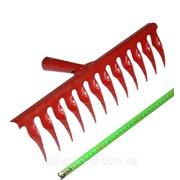 Грабли витые 12 зубов 2,5 мм (порошковая покраска) фото