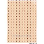Декупажная карта ДБ Фон-горошек персиковый фото