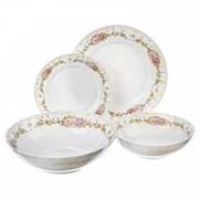 Набор столовой посуды Vetta Вероника 818-123, 19 предметов фото