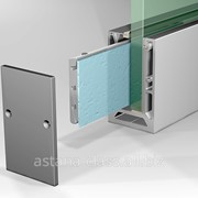 Профиль для стеклянных ограждений 16 мм фото