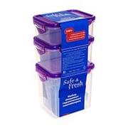 Набор контейнеров пищевых герметичных SF-Н03-1, 3 шт. фото