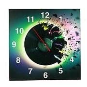 """Часы настенные """"Let us music"""" 30см . 38259 фото"""