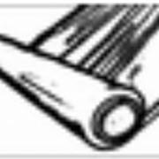 Пленка ПНД белая/черная - 5 цвет печати