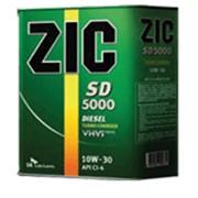 Минеральное моторное масло для дизельных двигателей ZIC SD 5000