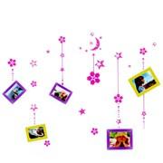 Фоторамка Сима 5фото наклейка Месяц и цветы фото