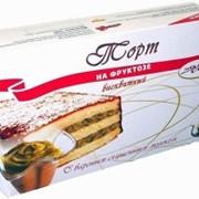 """Торт на фруктозе """"С вареным сгущенным молоком"""" купить в Алматы, торты диабетические заказать в Алматы фото"""