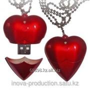 Флешка в виде сердца Код: 1.325.1 фото