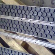 Резиновая футеровка приводных барабанов конвейеров фото