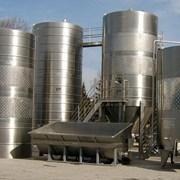 Изготовление резервуаров для ликероводочной промышленности фото