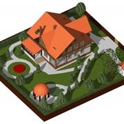 3D проектирование земельных участков фото