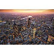 """Фотообои """"Вид Лондона с высоты"""" Wizard&Genius (Швейцария)"""
