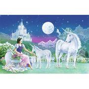 """Фотообои """"Принцесса Единорог"""" Wizard&Genius (Швейцария) фото"""