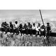 "Фотообои ""Обед над Манхэттеном (фото Чарльза Эббетса)"""" Wizard&Genius (Швейцария) фото"