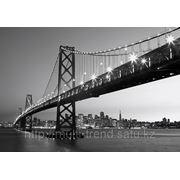 "Фотообои ""Силуэт Сан-Франциско"" Wizard&Genius (Швейцария) фото"