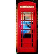 """Фотообои """"Телефонная будка"""" Wizard&Genius (Швейцария) фото"""