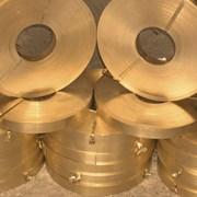 Лента бронзовая БрОФ7-0,2 0,4 мм фото