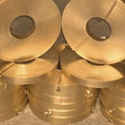 Лента бронзовая БрБ2Т 0,6 мм фото