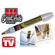 Карандаш маркер Grout-Aide Grout & Tile Marker для обновления межплиточных швов фото