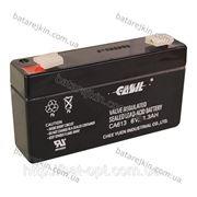 Аккумулятор свинцовый Casil 6V - 1,3 Ah СА 613, арт. 5442 фото