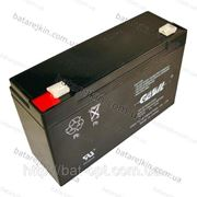 Аккумулятор свинцовый Casil 6V - 12 Ah CA 6120, арт. 5445 фото