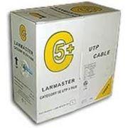 Кабель UTP 5е Lanmaster LAN-5EUTP-GY фото