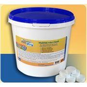 Химия для бассейнов Crystal Pool MultiTab 4-in-1 Small ( 1 кг по 20 грамм)