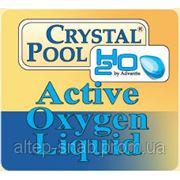 Средство для дезинфекции Жидкий активный кислород Crystal Pool Active Oxygen Liquid 30 кг Харьков фото