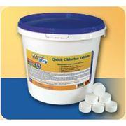 Химия для бассейнов Crystal Pool Quick Chlorine Tablets 50 кг (теблетка 20гр) фото