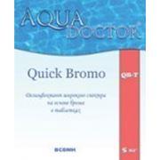 AquaDOCTOR™ QB - Быстрорастворимый дезинфектант широкого спектра на основе брома. Таблетки по 20гр.\5кг фото