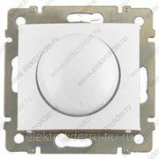 Светорегулятор поворотный 400Вт Белый фото