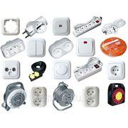 Электроустановочные изделия. фото