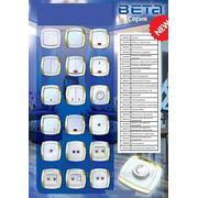 Розетки та вимикачі BETA фото