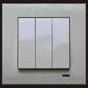 Выкл.3кл. серебро VI-KO Novella Gumus