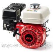 Двигатель бензиновый PIRAN GX160, 4-х тактный, 5.5 л.с., 163 куб.см, горизонтальное расположение вала. фото