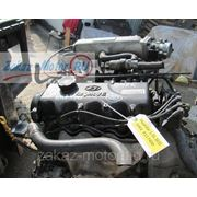 Двигатель (бу) G4EK 12vl 1,5л для Hyundai (Хендай, Хундай) ACCENT (АКЦЕНТ), ELANTRA, VERNA, PONY фото