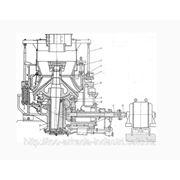 Конусная дробилка КСД-1750 гр, среднего дробления, грубого помола фото