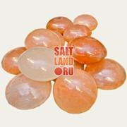 Массажные камни из гималайской соли 6 шт. фото