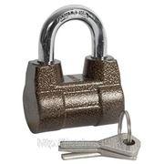 """Замок навесной ЗУБР """"МАСТЕР"""" облегченный, дисковый механизм секрета, ключ 7 PIN, дужка фото"""