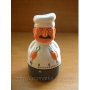 Кухонный механический таймер «Повар» фото