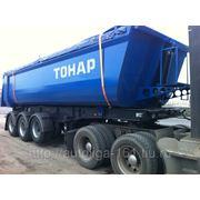 Самосвальный полуприцеп TOHAP-9523 (3 оси, 28 куб, 39,5 тонн) фото
